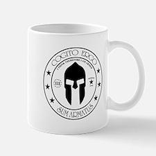 I Think Therefore I Am Armed Mug