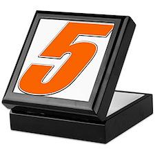 RDnumber5 Keepsake Box