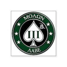 Come and Take It (Green/White Spade) Sticker