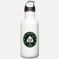 Come and Take It (Green/White Spade) Water Bottle