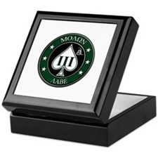 Come and Take It (Green/White Spade) Keepsake Box