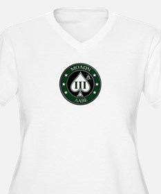 Come and Take It (Green/White Spade) Plus Size T-S