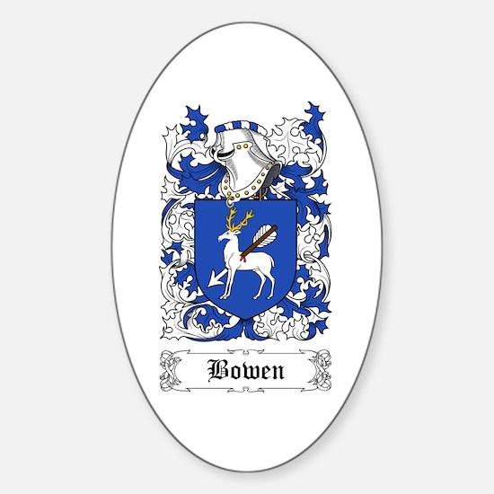 Bowen Sticker (Oval)
