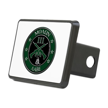 Come and Take It (Crossed Rifles) Hitch Cover