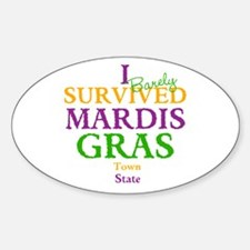 Your Mardis Gras Decal
