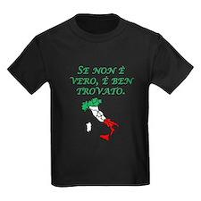 Italian Proverb Good Story T-Shirt