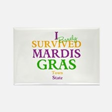 Your Mardis Gras Rectangle Magnet (10 pack)
