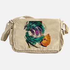 Animal cell, artwork - Messenger Bag