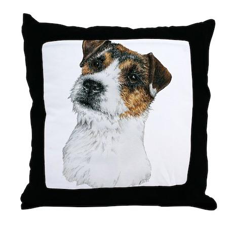 Jack Russell Terrier JRT Throw Pillow