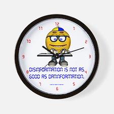 Disinformation Wall Clock