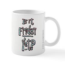Friday Garfield Small Mug