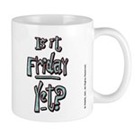 Friday Garfield Small Mug