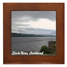 Loch Ness Framed Ceramic Tile