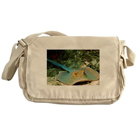 Blue-spotted fantail ray - Messenger Bag