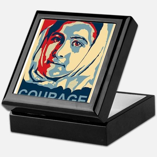 The Courage of Malala Yousafzai Keepsake Box
