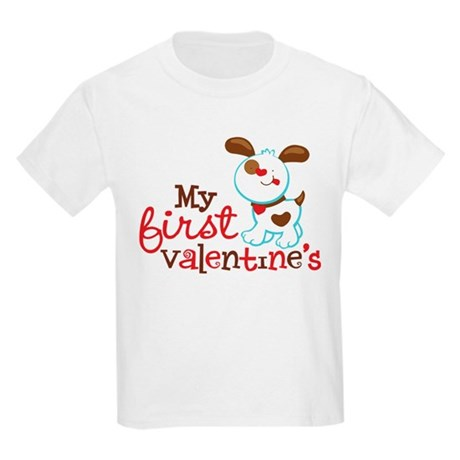 1st Valentines Day Puppy T-Shirt