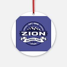 Zion Midnight Ornament (Round)