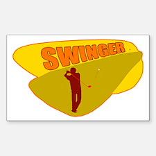 Swinger Decal
