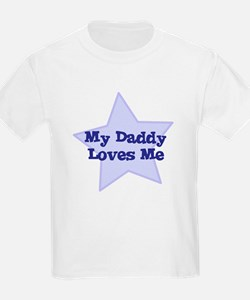 My Daddy Loves Me Women's Pink T-Shirt
