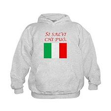 Italian Proverb Every Man Hoodie