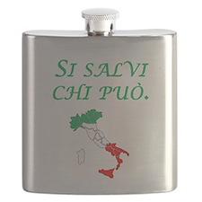 Italian Proverb Every Man Flask