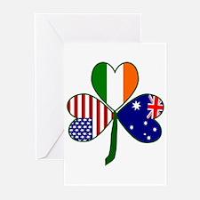 Shamrock of Australia Greeting Cards (Pk of 20)