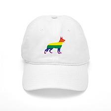 Gay Pride German Shepherd Baseball Baseball Cap