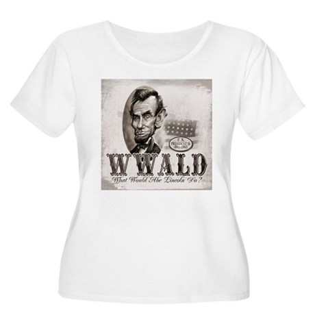 What Would Abe Lincoln Do Women's Plus Size Scoop