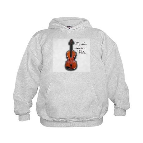 My other violin is a Viola. Kids Hoodie