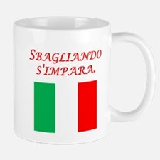 Italian Proverb Mistakes Mug