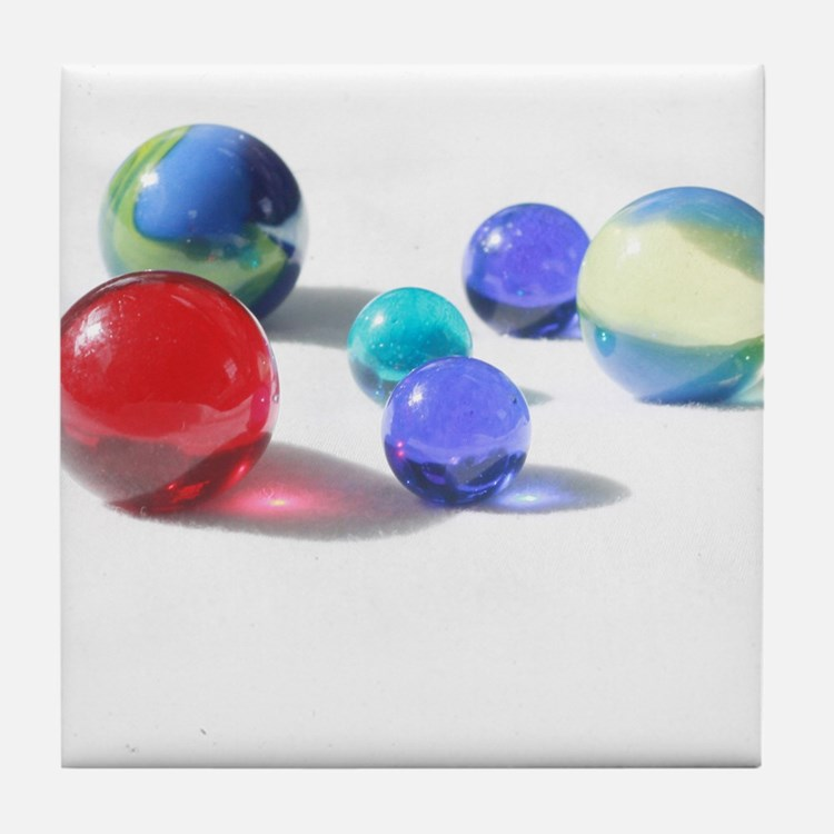 Lost your Marbles? Tile Coaster