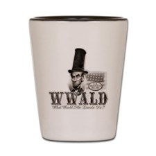 What Would Abe Lincoln Do Shot Glass