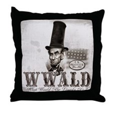 What Would Abe Lincoln Do Throw Pillow