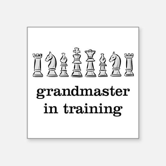 Grandmaster in training Sticker