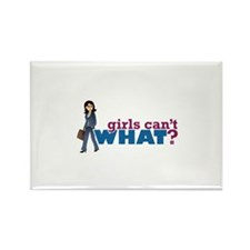 Business Lady Rectangle Magnet