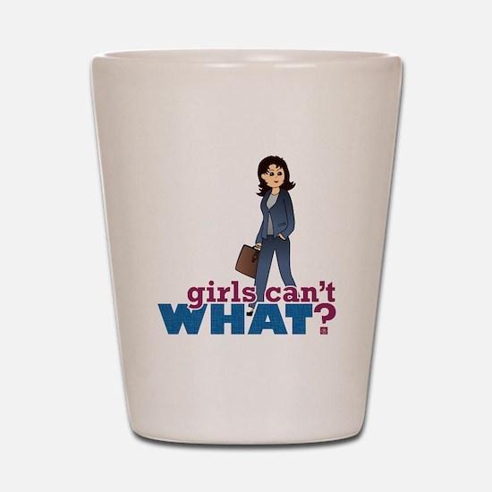 Female CEO Shot Glass
