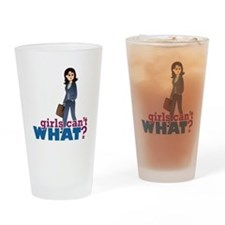 Female CEO Drinking Glass