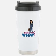 Female CEO Stainless Steel Travel Mug