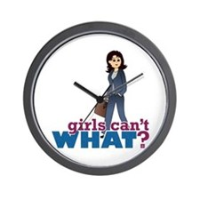 Female CEO Wall Clock