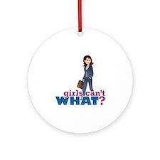 Female CEO Ornament (Round)