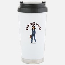Lady in Business Suit Travel Mug