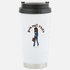 Woman in Business Suit Travel Mug