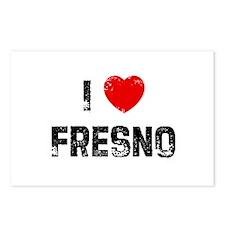 I * Fresno Postcards (Package of 8)