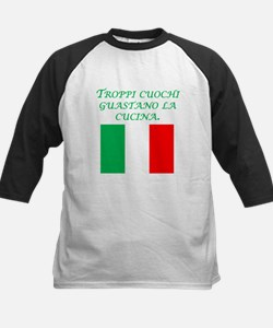 Italian Proverb Too Many Cooks Baseball Jersey