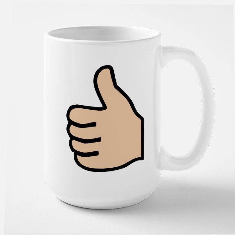 thumbs up Mug