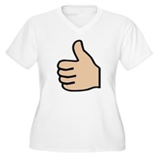 thumbs up Plus Size T-Shirt