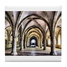 Dormitory of Alcobaca monastery in Portugal Tile C
