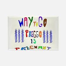 Preggo Is Pregnant Rectangle Magnet