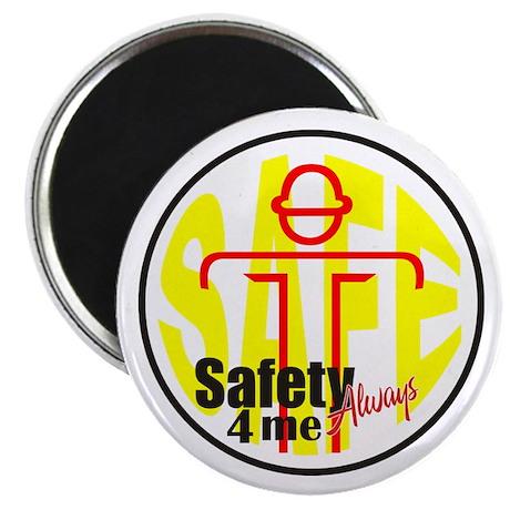 """Safety 4 Me 2.25"""" Magnet (10 pack)"""