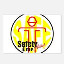 Safety 4 Me Postcards (Package of 8)
